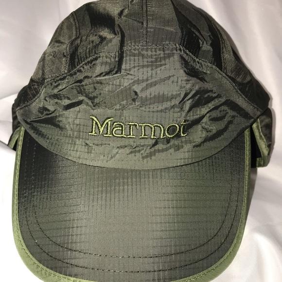 Marmot Precip Insulated Baseball Cap in Dark Cedar b990cb7bae8d